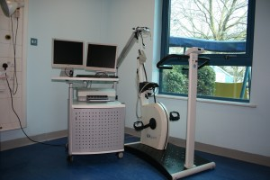 This exercise bike will be replaced by a child-sized one for the project